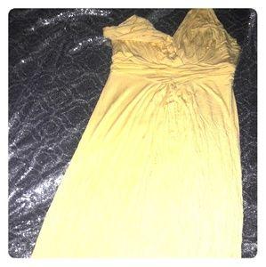 IMAN yellow maxi